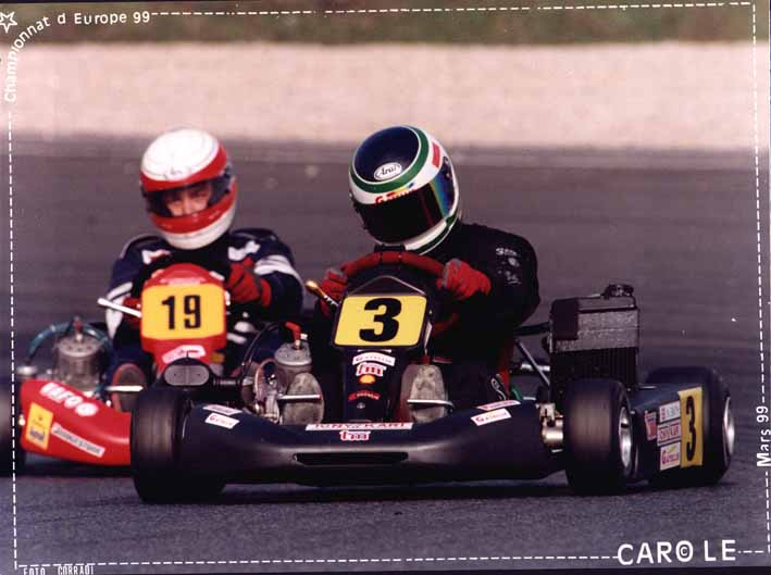 Nick Smith in Formula TKM Kart